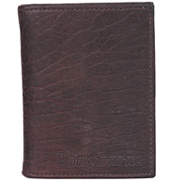 A Smart Mens Leather Wallet from Longhorns to Mumbai