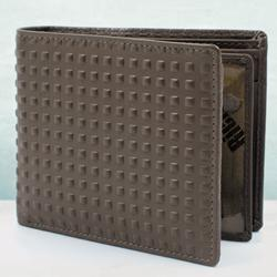 Eye-Catching Brown Leather Wallet for Men to Allahabad