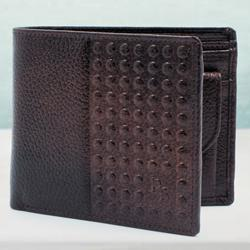 Splendid Dark Brown Gent�s Leather Wallet to Allahabad