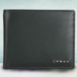 Attractive Green Mens Leather Wallet from Cross to Alipurduar