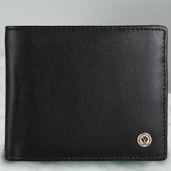 Exclusive Black Gents Leather Wallet from Cross to Aalangulam