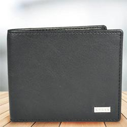 Exclusive Black Mens Leather Wallet from Cross to Aalangulam