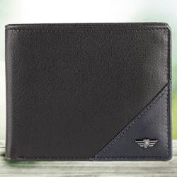 Marvelous Black Gents Leather Wallet from Police to Aizwal
