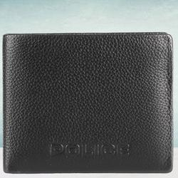 Alluring Police Brand Mens Leather Wallet in Black to Aizwal