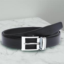 Wonderful Cross Leather Belt for Men to Agartala
