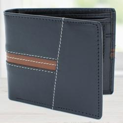 Marvelous Black Gents Leather Wallet to Aalangulam