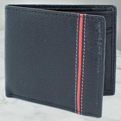 Remarkable Gents Black Color Leather Wallet to Allahabad