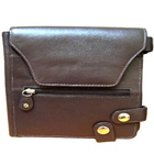 Lovely Brown Leather Purse for Ladies with Security Clutches to Bhiwani