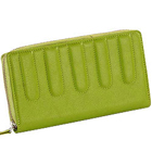 Genuine Leather Ladies Wallet in Sea Green from Leather Talks to Mysore