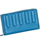 Genuine Leather Ladies Wallet in Sky Blue from Leather Talks to Tirunelveli