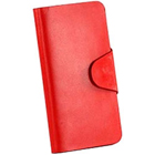 Brignt Red Genuine Leather Leather Talk Ladies Wallet to Mysore