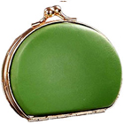 Melon Colored Clutch Styled Gebuine Leather Coin Purse from Vaunt to Mumbai