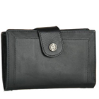 Fashionable Titan Fastrack Black Leather Wallet for Women to Yamunanagar