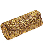 Amazing Golden Leather Clutch Bag for Ladies from Spice Art to Alapuzha