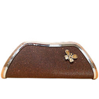Shimmer copper clutch from Spice Art