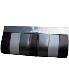 Soothing Womens Leather made Silver Clutch Purse especially for Evening Parties from Spice Art to Baghpat
