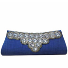 Exotic Spice Art Ladies Purse in Royal Blue to Cochin