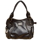 Astonishing Black Leather Ladies Handbag from Spice Art to Chandigarh
