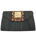 Sensational Black Coloured Spice Art Ladies Purse with Eye-Catching Style to Ghaziabad