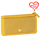 Alluring Signature Spice Modern Yellow Wallet Crafted by Avon to Ahmedabad
