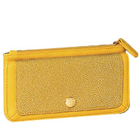 Alluring Signature Spice Modern Yellow Wallet Crafted by Avon to Chandigarh