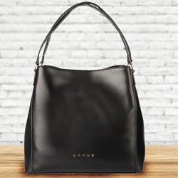 Exclusive Cross Ladies Bag in Black to Agartala
