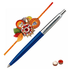 <b>Pen from Parker</b> with Free Designer Rakhi and Chocolate to Nakoda