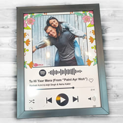 Amazing Personalized Music Photo Frame to Adilabad