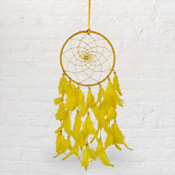 Homemade Beaded Dreamcatcher Feng Shui Showpiece to Alwar