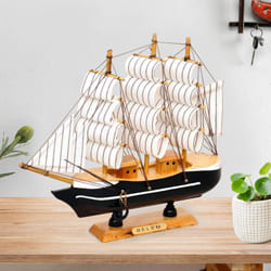 Designer Sailing Ship Showpiece to Alagappapuram