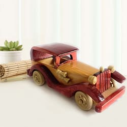 Attractive Vintage Vehicle Wooden Car Toy to Akurdi