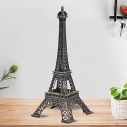 Exquisite Metal Eiffel Tower Statue to Adra