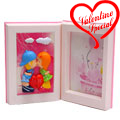Lovely Valentine Book Photo Frame