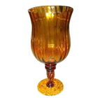 Fabulous Golden Candle Stand Gift  to Behrampur