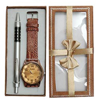 Hightech Pen gift set with Watch (Japanese movement) to Ghaziabad