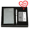 Diary Gift with Calculator and Pen Gift Set to India