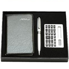 Exclusive pack of Diary, Pen and Calculator gift set to Banka