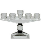 Wonderful Crystal Candle Stand for 5 Candles to Ajmer