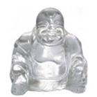 Feng Shui Crystal Laughing Buddha Gift  to India