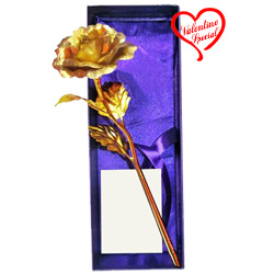 Special Love Golden Rose Stick to Faridabad