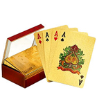 Gold Plated Playing Cards with Certificate of Authenticity to Anakapalli