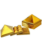 Stunning Lucky Brass metallic Pyramid to Behrampur