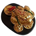 Feng Shui Three Legged Money Frog to Batala