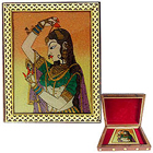 Beautiful Meenakari styled Wooden Jewellery Box for Ladies to Yamunanagar