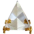 Pyramid With golden stand  to Allahabad