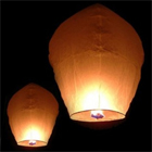 Amazing Flying Lantern to Chandigarh