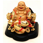 Outstanding Smiling Laughing Buddha with an Auspicious Vibes to Bade Bacheli