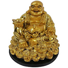 Charming Laughing Buddha with Best Wishes to Palladam