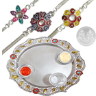 Attractive Aarti Thali Super Hamper to Cochin