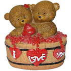 Candid Twin Teddy with a Heart to Barnala